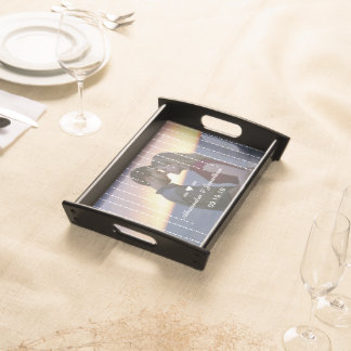 Personalized Your Photo Wedding Anniversary Serving Tray