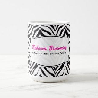 Personalized: Zebra Mug