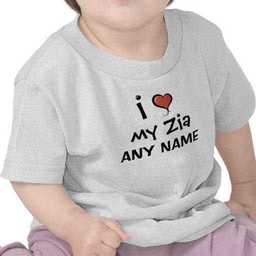 Personalized Zia Love Tshirts