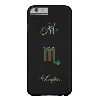 Personalized Zodiac Sign Scorpio iPhone 6 Case