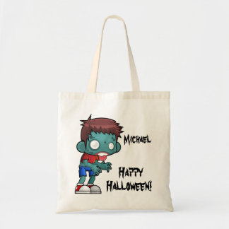 Personalized Zombie Trick or Treat