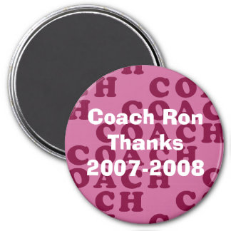 Personlized Coach's Gift - Magnet