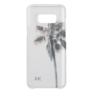 Personlized Palm Tree Samsung Case - CLEAR