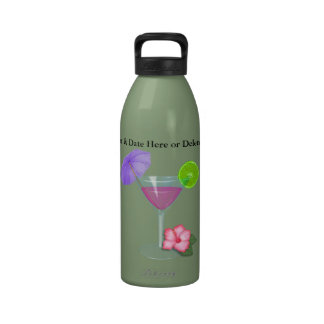 Personlized Vacation Water Bottle for a Group