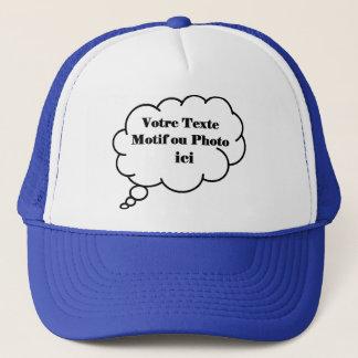 Personnaliser avec votre photo ou texte trucker hat