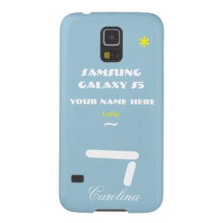 Personnaliser de Samsung S5 votre cas votre nom Protections Galaxy S5