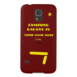 Personnaliser de Samsung S5 votre cas votre nom Coques Pour Galaxy S5