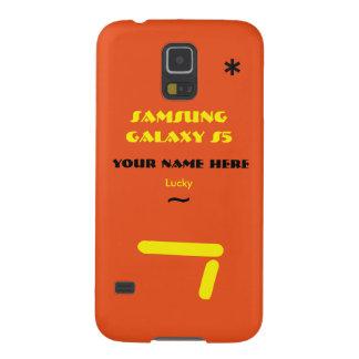Personnaliser de Samsung S5 votre cas votre nom Coque Pour Samsung Galaxy S5