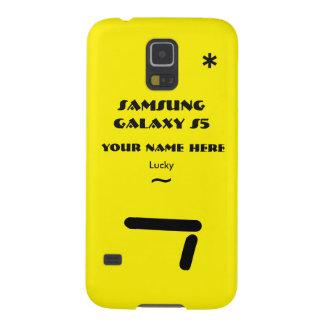 Personnaliser de Samsung S5 votre cas votre nom Protection Galaxy S5