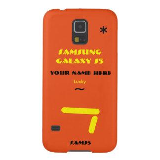 Personnaliser de Samsung S5 votre cas votre nom Coques Galaxy S5