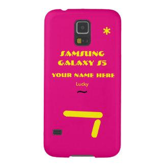 Personnaliser de Samsung S5 votre cas votre nom Coque Galaxy S5