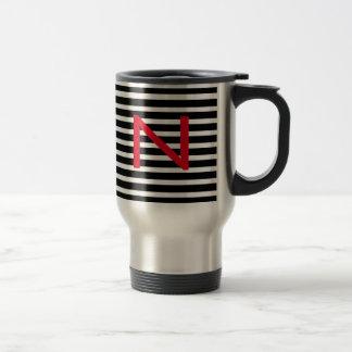 Personnalisez la tasse de café de voyage en métal