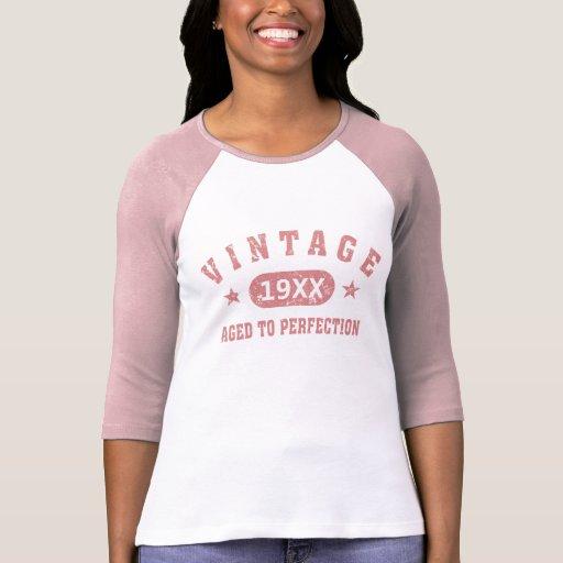 Personnalisez le cru âgé à la perfection [le rose] t-shirt