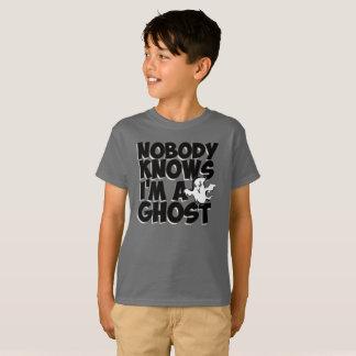 Personne ne sait que je suis un fantôme - T-shirt