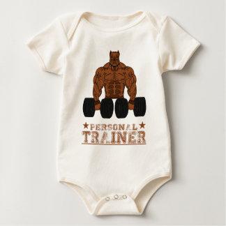 Personnel coach bodybuilding Bodybuilder fitness Baby Bodysuit