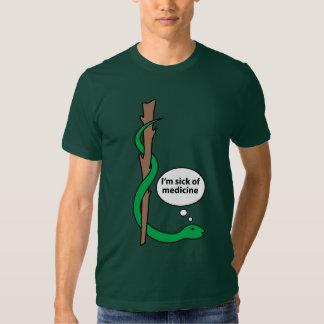 Personnel humoristique d'Asclepius T Shirts