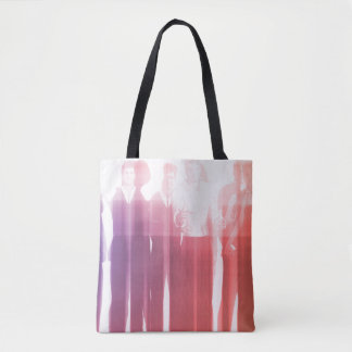 Personnel Management as a Presentation Background Tote Bag