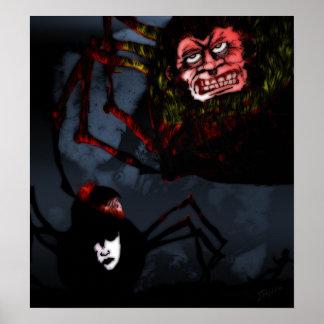 Personnes d'araignée poster