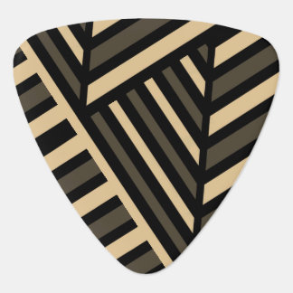 Perspective Line Art Stripe Guitar Pick