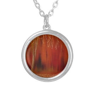 Perspective Silver Plated Necklace
