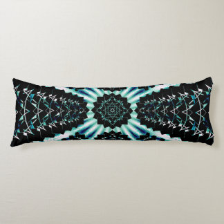 Perspective Soundwave Onyx Body Pillow