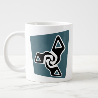 Perspective Tri-Arrows Large Coffee Mug