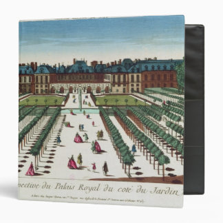 Perspective view of the Palais Royal Vinyl Binder