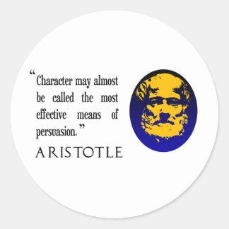 Persuasion, Aristotle quote stickers