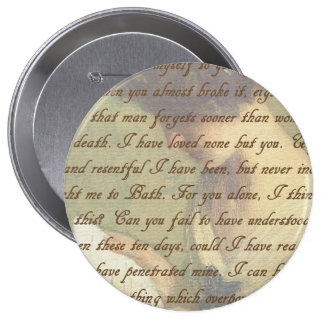 Persuasion Letter 4 Inch Round Button