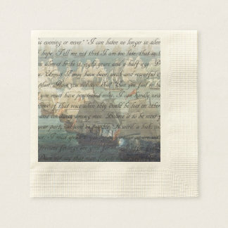 Persuasion Letter Disposable Napkin
