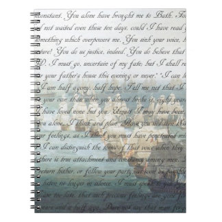 Persuasion Letter Spiral Notebook