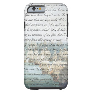 Persuasion Letter Tough iPhone 6 Case