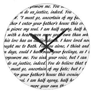 Persuasion Text Clocks