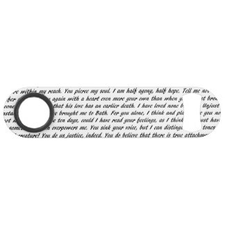 Persuasion Text Double-Sided Speed Bottle Opener