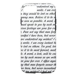 Persuasion Text iPhone 8/7 Case