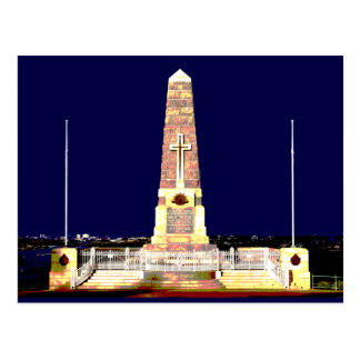 Perth Memorial By Night Post Cards