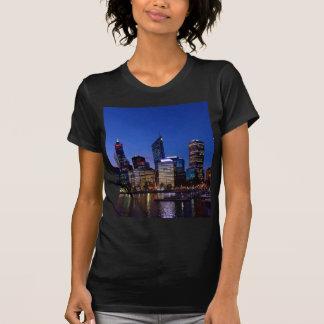Perth Night Skyline T-Shirt