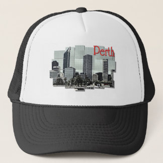Perth Souvenir T-shirt Trucker Hat