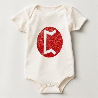 Perthro Rune Baby Bodysuit