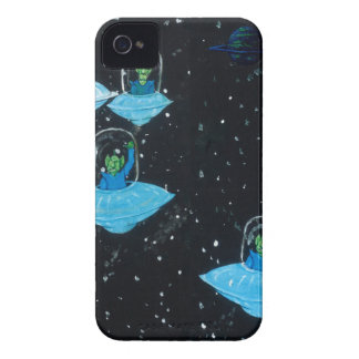 Perturbed Martians and some Cows Case-Mate iPhone 4 Case