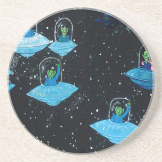 Perturbed Martians and some Cows Coaster