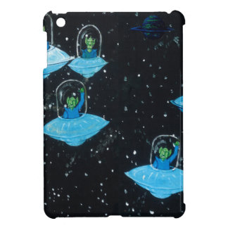 Perturbed Martians and some Cows iPad Mini Covers
