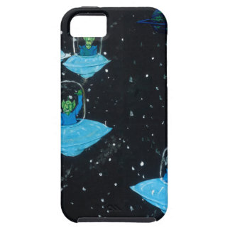 Perturbed Martians and some Cows iPhone 5 Cover