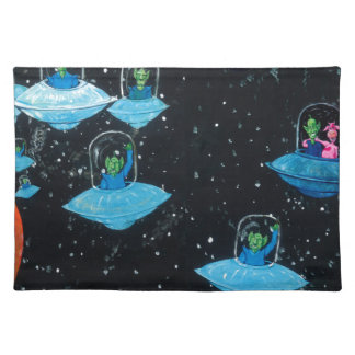 Perturbed Martians and some Cows Placemat