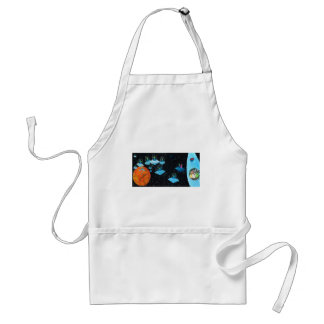 Perturbed Martians and some Cows Standard Apron