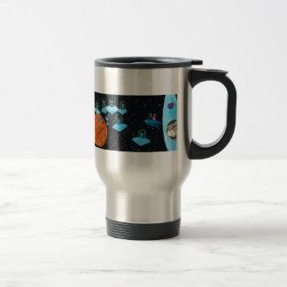 Perturbed Martians and some Cows Travel Mug
