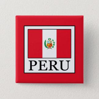 Peru 2 Inch Square Button