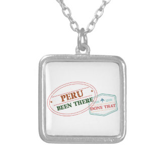 Peru Been There Done That Silver Plated Necklace