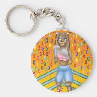 Peru boxer, alpaca character design keychains