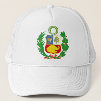 Peru Coat of Arms Hat
